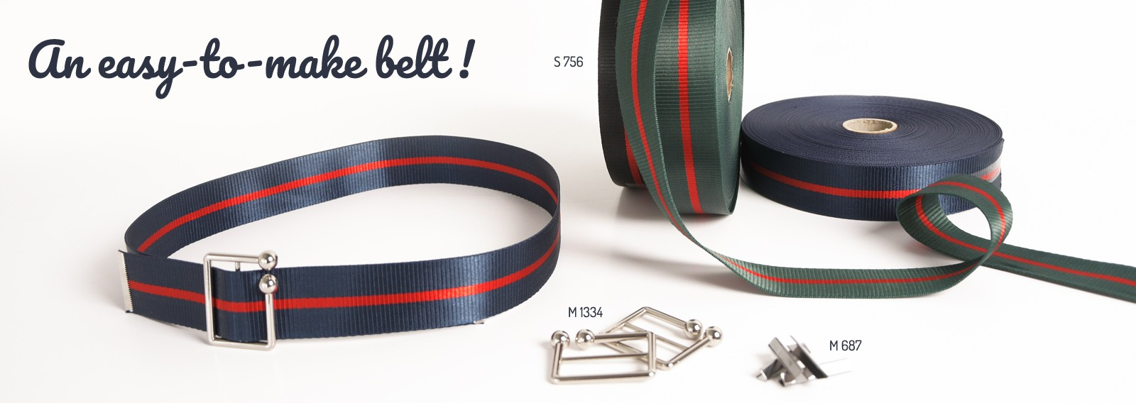 An easy-to-make belt !