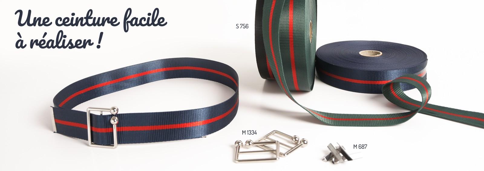 Une ceinture facile à réaliser !