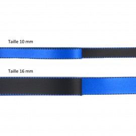 Reversible satin ribbon