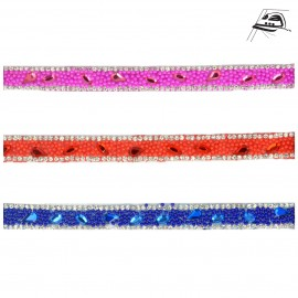 Beads/rhinestones trim Iron-on