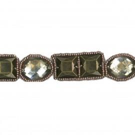 Metal Perlen Borte