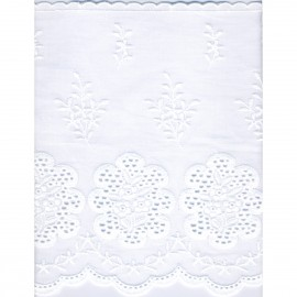 Cotton Eyelet lace 18cm