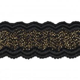 Beads elastic trim