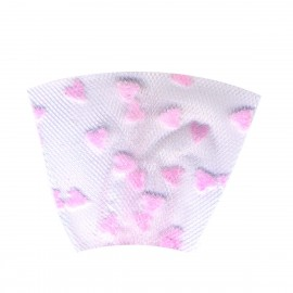 TULLE FLOQUE COEUR 8 CMS