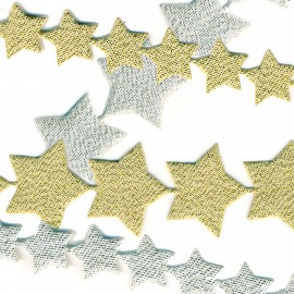 Self-adhesiv.Star garland