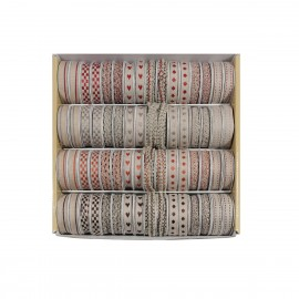 Linen ribbon box 64pcs*2m