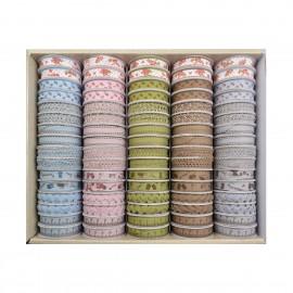Handmade Bänderbox 64 Stk