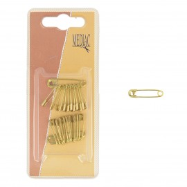 Brass safety Pins 19mm