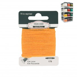 Wool mending thread 15m