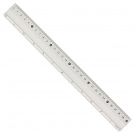 30cm ruler+12 inches