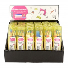 KIT CRAYONS 6P EN BOX