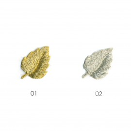 S FEUILLE OR/ARGENT