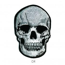M Tête de mort 8,2x5,5cm