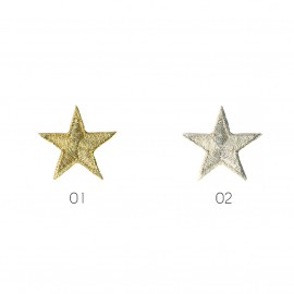 S Star motif gold/silver