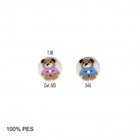 BOUTON BEBE OURS 2TR