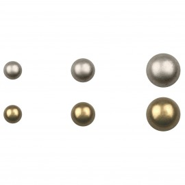Half sphere Metal buttons