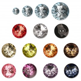 "Round ""crystal"" button"