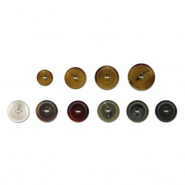 Resin imitation Button
