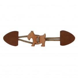 Hund Knebelverschluss