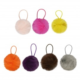 Rabbit fur ball 5cm