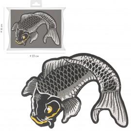 XL Iron-on carp