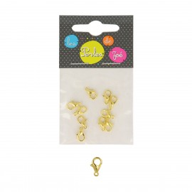 Sml lobster claw clasp*10