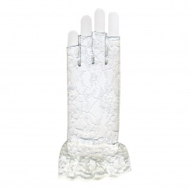 Lace fingerless gloves *3