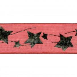 """""""Stars"""" organza ribbon"""