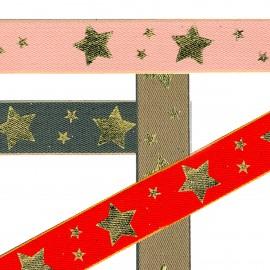 Stars printed ribbon