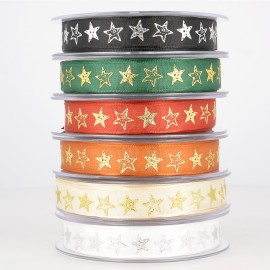 Star ribbon relief