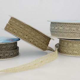 Metal lace