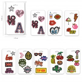 Fun Motif on card*4