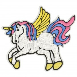 XL PATCH LICORNE SEQUINS