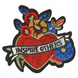 XL INSPIRED HEART PATCH