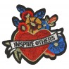 XL PATCH COEUR INSPIRE