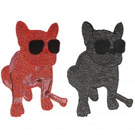 Fashion Hunde Applikation XL