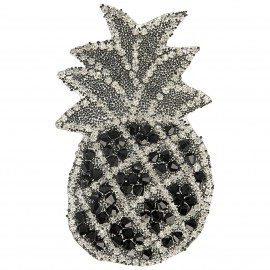 XL PINEAPPLE STRASS PATCH