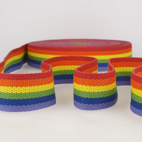 Multicoloured webbing