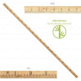 Bamboo Ruler 1m