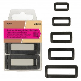 Rectangular Plastic Buckle 50mm*4
