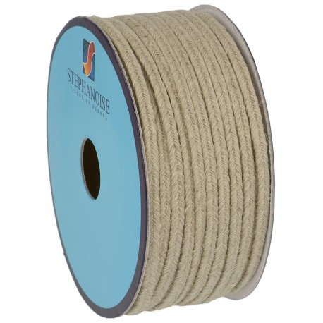 COTTON/LINEN TRIM TAPE5mm