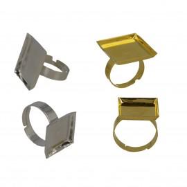 Quadratische Ring Traeger 16/20*2