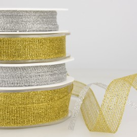 METALLIC GRID RIBBON