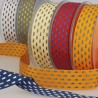 Bicolour ribbon