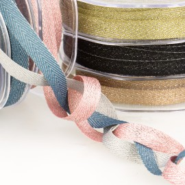 METALLIC CHEVRON RIBBON