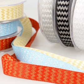 METALLIC RICK RACK RIBBON