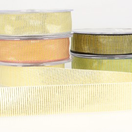 METAL. GROS GRAIN RIBBON