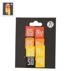XL Cloth Labels 05/NY *6