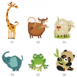 M MOTIF CUTE ANIMALS
