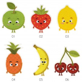 M Patch babyish fruits